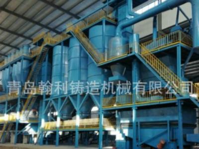 青岛铸机粘土砂生产线设备S8660风冷式沸腾冷却床消失模冷却设备