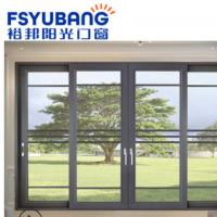裕邦阳光 仿重型推拉门新雅100 钢化玻璃移门 客厅厨房推拉吊趟门