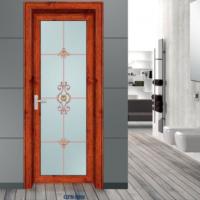 定做铝合金门 卫生间门厕所门浴室钢化玻璃门平开门厨卫门厨房门