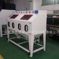 双工位双开门手动非标喷砂机 模具非标喷砂机 喷砂机生产厂家