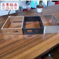 厂家现模供应 铝合金方管外壳 净化器铝外壳 可定制加工定制颜色