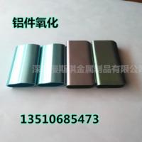 USB铝件精美加工 电子数码外壳铝件氧化 彩色亮面氧化 来图定制