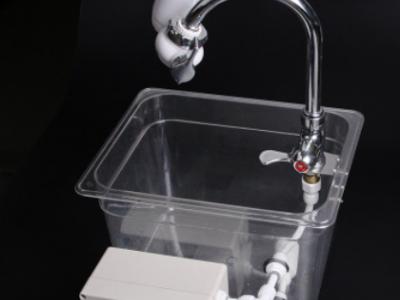 适用一号泉净水器示范演示水槽水机实验工具水泵充电移动款户外