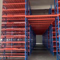 厂家直销 托盘式大型高位工业仓库库房重型货架2.5 吨加厚可定做