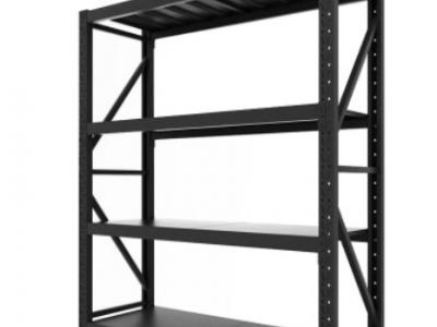 厂家直销 批发仓储仓库轻仓货架 多层金属储存架 展示架350kg层