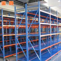 青岛厂家 轻量型仓储货架仓库库房五金货架 轻中重型各类定做