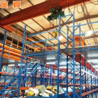 重型货架仓储设备中型货架 仓储可拆装组装平台式阁楼仓库货架
