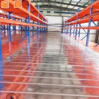 仓储货架 空间阁楼货架 钢平台货架重型摆列放置仓储货架可定制