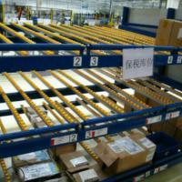 简存滑移式库房滚轮货架 先进先出重型流利式货架 厂家供应可定制