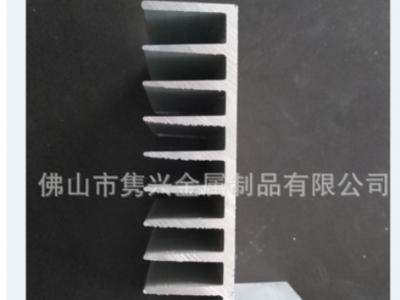 定制 铝型材散热片电子元件散热器型材电器降温密齿散热铝条
