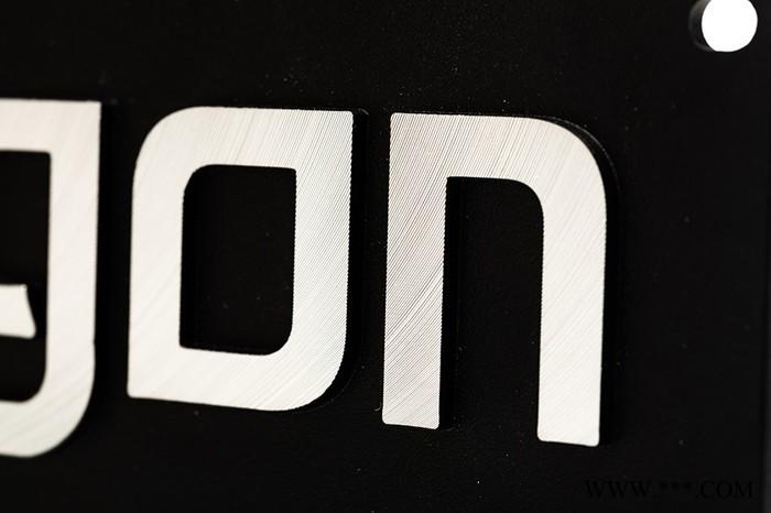无锡铝型材阳极氧化厂家 镜面铝板二次氧化 铝名牌定制