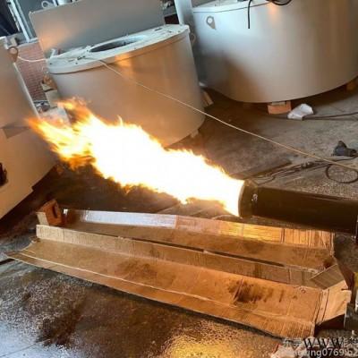 HX-1000 柴油熔铝炉 废铝熔炼炉 铝锭炉