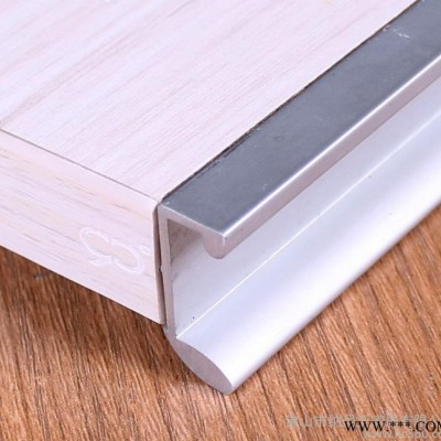 佛山厂家生产 太空铝橱柜封边拉手 欧式新款家具铝材 深加工定做