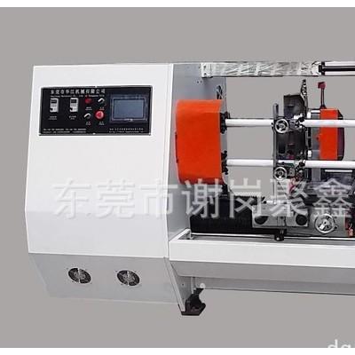 专业分切电工胶带双管自动切台保护膜自动切台双面胶分切机