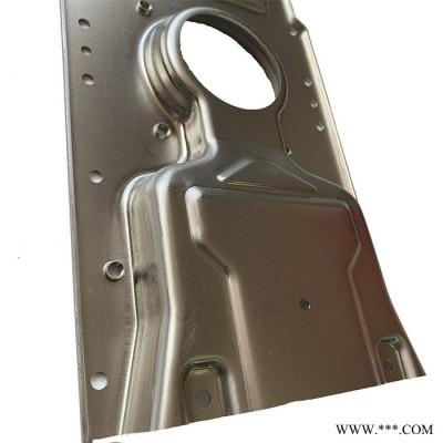 致萃 工厂定制精密钣金手板 冷轧板简易模具冲凸包镀镍洗衣机钣金打样