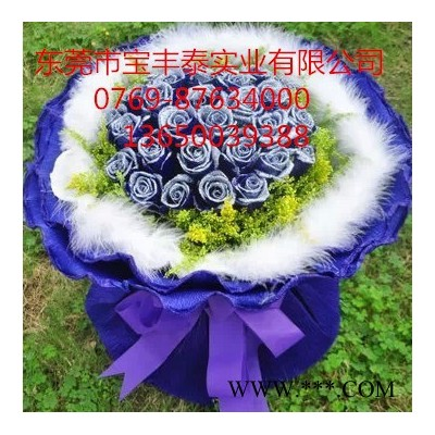 新鲜幻彩玫瑰着色剂植物工艺品