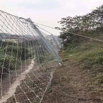 边坡金属护坡网  电镀锌钛克网  滑坡治理专用网 批发现货 继乾