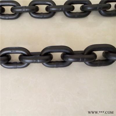 新都 起重链条加工制造 研发生产技术经验丰富G80级起重链条  发黑起重链条 电镀锌起重链条