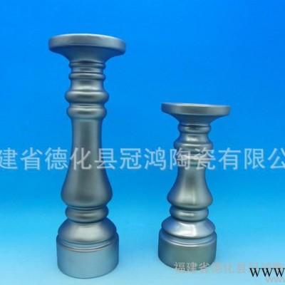 陶瓷电镀产品-家居摆件-陶瓷电镀动物-陶瓷电镀花瓶