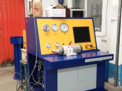 新型钢瓶外测法水压试验机 无缝工业气瓶