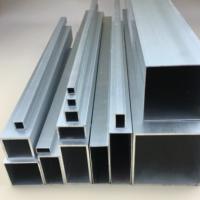 铝扁通 方管型材木纹铝方管铝扁通空心管四方隔断矩形铝管加工