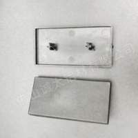 铝型材4080胶盖配件 防尘密封封口盖 铝合金 定制4080胶盖配件