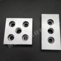 铝合金4080端面板加厚来图定制铝合金型材配件加工铝型材连接面板