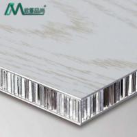 厂家定制铝蜂窝板蜂窝芯复合板隔音隔热铝单板大理石纹铝蜂窝板