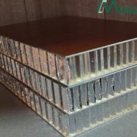 厂家定制铝合金18厘蜂窝板全铝木纹蜂窝铝芯10厘PVC面铝板批发