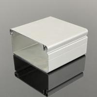 工业铝型材厂家直供开模定制银白喷砂氧化免费拿样4080铝合金线槽