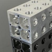 工业铝型材厂家直供开模定制银白大氧化CNC精加工免费拿样铝型材
