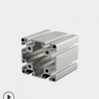 厂家供应 国标8080工业铝型材围栏 流水线工作台 展架框架定制