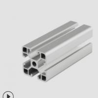 厂家批发 6060工业铝型材 流水线铝型材 工作台框架 展示柜支架