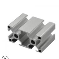 冠发铝材3060欧标2.0厚工业铝型材6030流水线型材框架 展示柜支架