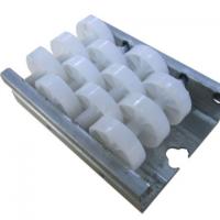 铝合金导轨钣金流利条物料架滑轮周转车滑轮定制货架流利条滚轮