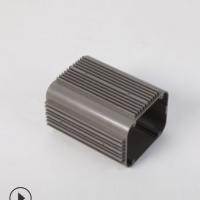 佛山厂家工业铝材外壳加工黑色铝合金电源盒定制挤压铝型材深加工