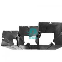 厂家直销立柱展览铝材 导轨铝材 现货直发 可来图定制