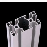 4040口罩机铝材 机架氧化铝材 自动化焊耳机铝材口罩机配件