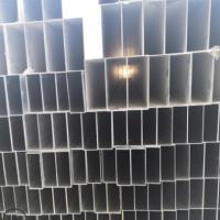 工厂直销6063国标铝方管 80*40铝方通铝合金方管木纹铝方管可定制