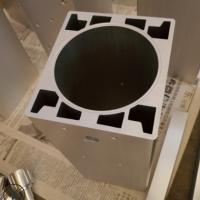 佛山供应四方形工业铝型材方形铝合金异形铝型材挤出开模挤压型材