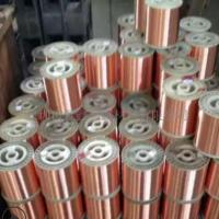 厂家直销C1100紫铜线 紫铜丝加工定制镀锡紫铜线0.05-0.2 电源线