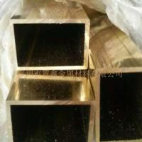 厂家直销黄铜管【高精密黄铜方管】h62/h68/h85环保黄铜毛细管