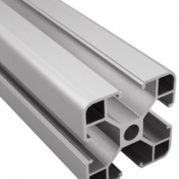 厂家供应欧标4040L工业铝型材 3D打印型材支架 支持挤压定做