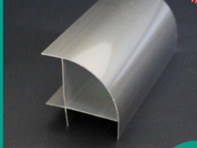现货供应净化车间铝材无尘车间夹芯板阳角外转角铝型材50外圆柱