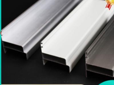 现货供应净化铝型材配件净化板门净化铝合金中空门料50双门料