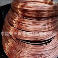 国标tu1无氧铜圆线 东莞厂家生产无氧紫铜丝 0.2 0.3 0.4 0.5-8mm