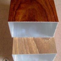 木纹铝方管铝合金型材铝型材15*15 13*15 12*18转印喷涂铝方通
