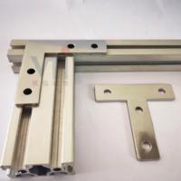 铝型材配件20系列 20型材连接件 L型T型平面连接件 内置连接件