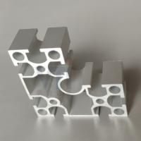 重负荷型材 8840L铝合金型材 展柜立柱半圆弧转角8840R铝型材