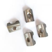 工业铝型材配件 欧标弹片螺母M6 M8 后装侧装螺母弹片定位